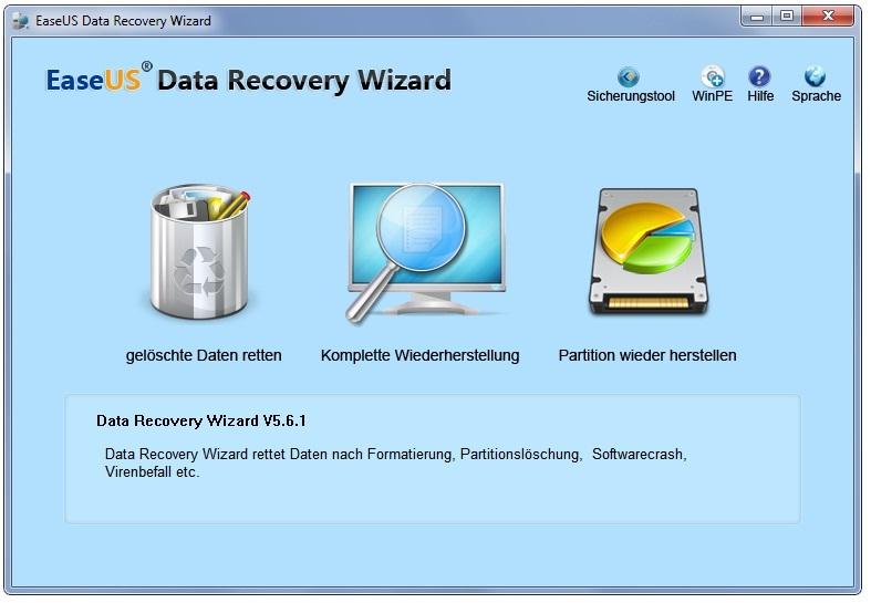Wiederherstellung gelöschter Daten und Dateien