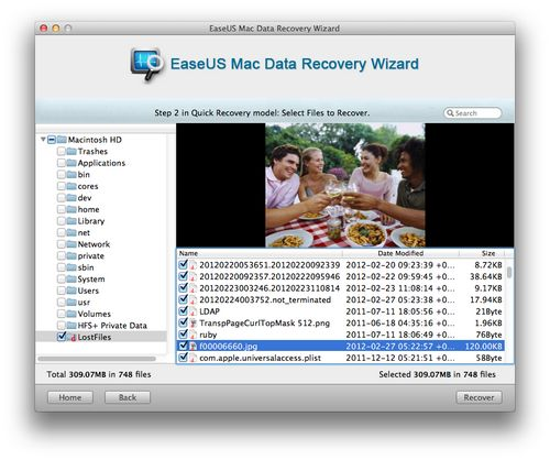 Datenrettung für Apple Mac