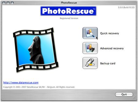 PhotoRescue MAC