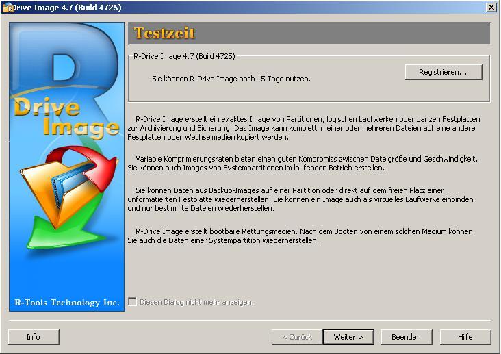Windows Backup erstellen