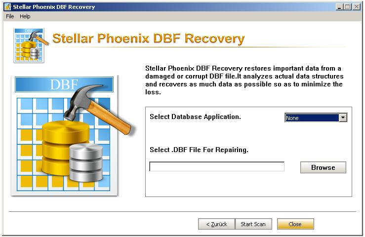DBF File Recovery