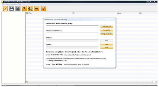 NSF Datei wiederherstellen