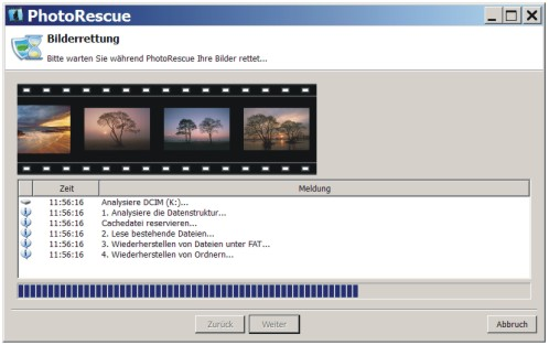PhotoRescue kann Ihre Bilder retten und wiederherstellen.