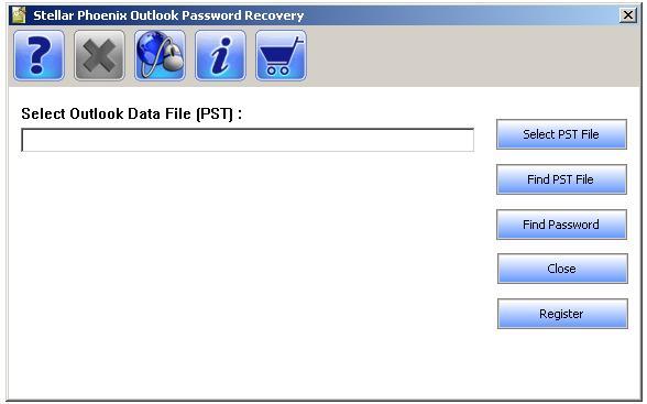 PST Outlook Passwort wiedersherstellen