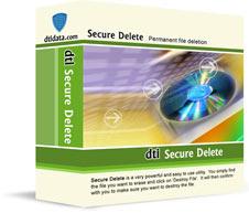 DTI Data Secure Delete - Dateien dauerhaft löschen