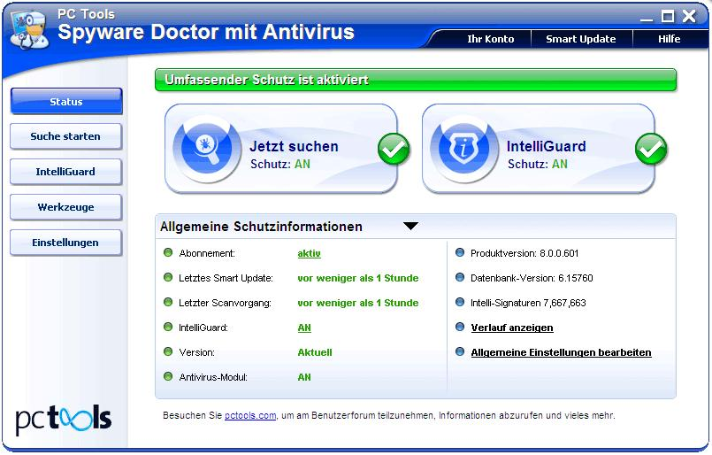 Spyware doctor Antivirus