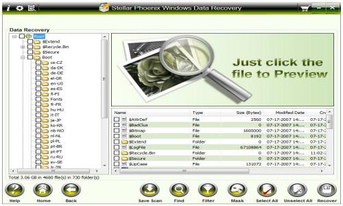 Festplatten retten mit der Stellar Phoenix Datenrettungssoftware.
