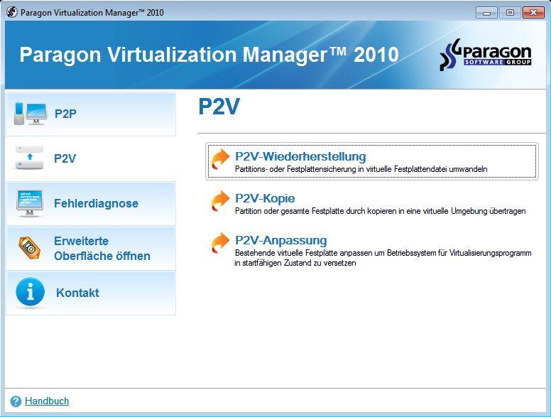 Virtuelles System erstellen